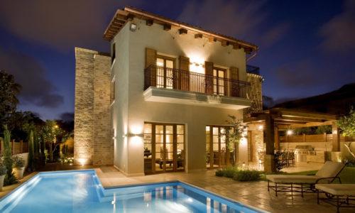 serramenti casa in piscina